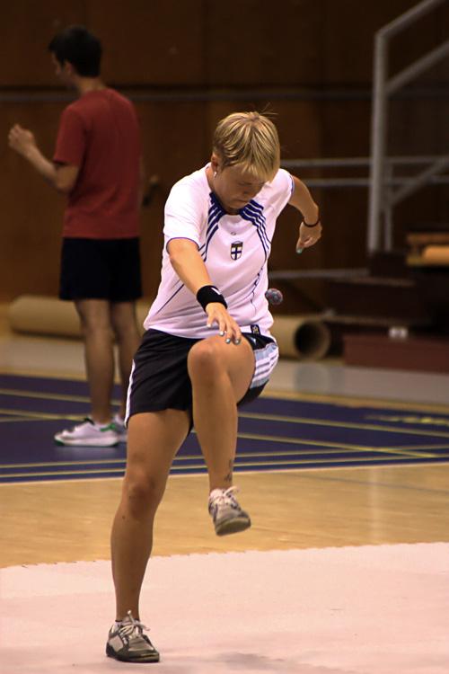 Tanja Salakka Helsingin MM-kisoissa