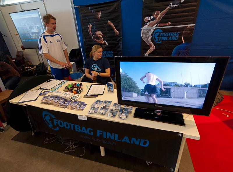 Footbag Finlandin ständi