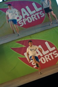 Tuukka Antikainen Ball Sports -osaston lavalla