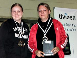 Piia Tantarimäki ja Kerstin Anhuth