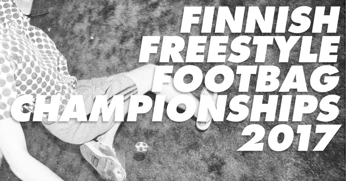 Finnish Freestyle Footbag Championships 2017